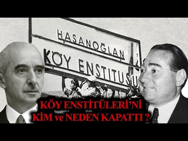 Türk'de Köy Enstitüleri Video Telaffuz