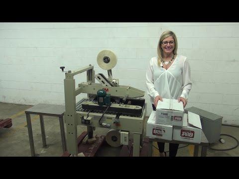 SEALER CASE MACHINES Case sealer/taper sold by Frain Industries