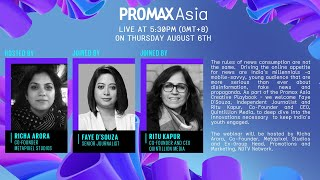 Promax Asia Webinar – Reinventing News for Young India