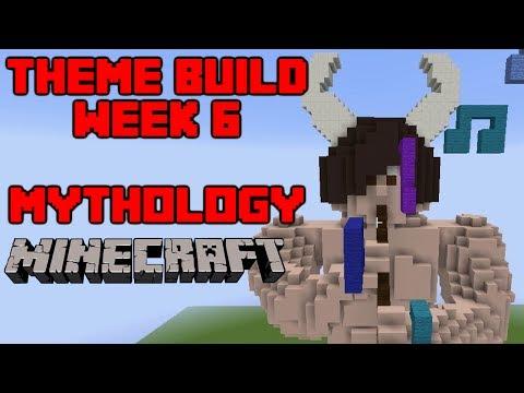 Minecraft - Your Theme Builds - Week 6 - Mythology