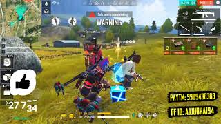 Free Fire Squad Match With Hindi Commentary - Total Gaming Live