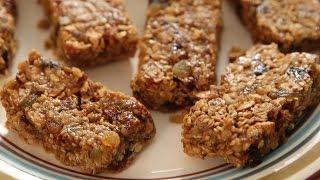 Homemade Granola Bars | Granola Bars Recipe | Kiddies Corner With Anushruti