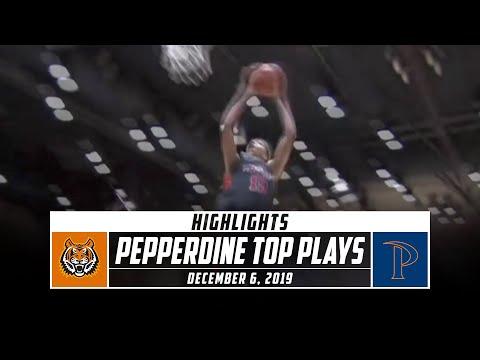Pepperdine Basketball Top Plays vs. Idaho State (2019-20) | Stadium