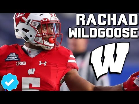 Official Rachad Wildgoose Highlights  Wisconsin CB