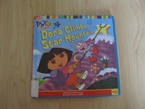 dora the explorer dora climbs star mountain read aloud story books