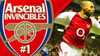 ARSENAL INVINCIBLES CAREER MODE #1 - CAN WE GO UNBEATEN?!