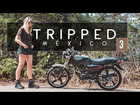 MEXICO. MOTORCYCLE. MARGARITAS. | Fin learns to ride a motorcycle