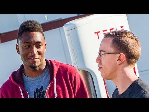 Talking Tesla with MKBHD!