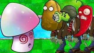 Hypno Zombatony   MINIGAMES   Plants Vs Zombies