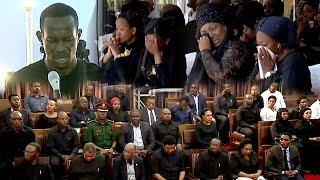 VIDEO: Mtoto wa Ruge awaliza watu akimuombea msamaha baba yake