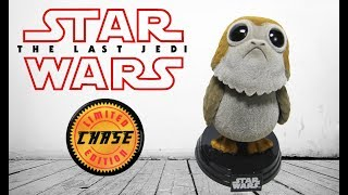 STAR WARS The LAST JEDI Funko Pops PORG Review with Chase Exclusive!