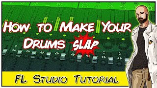 Making A Hard Trap Beat | How To Make Your Drums Slap In FL Studio