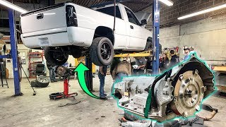 Installing a Built 1,000hp Transmission in my Race Truck!