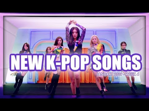 NEW K-POP SONGS | JANUARY 2019 (WEEK 4)