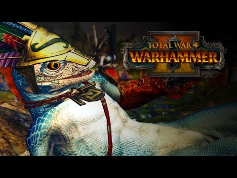 Total War: Warhammer II Lizardmen In-Engine Trailer thumbnail
