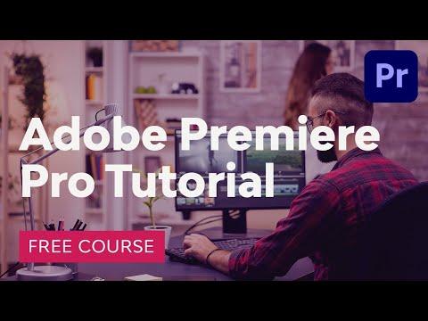 Premiere Pro Free Tutorial Course Coupon