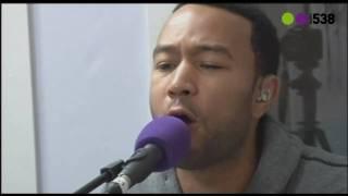 Radio 538: John Legend - Ordinary People (Live bij Evers Staat Op)