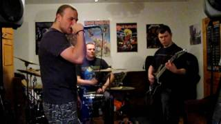 DREAM EVIL - The Book Of Heavy Metal (recording session)