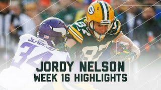 Jordy Nelson Goes Off for 154 Yards & 2 TDs! | Vikings vs. Packers | NFL Week 16 Player Highlights
