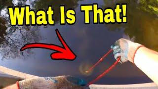 I Found Something EXTREMELY ILLEGAL Magnet Fishing!!