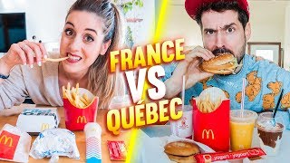 MCDO EN FRANCE VS AU QUÉBEC | DENYZEE ft. HUBY