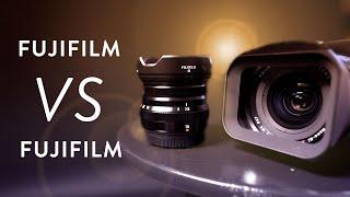 Lens Battle :: Fujifilm 16mm f/1.4 VS f/2.8