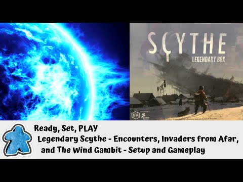 Ready, Set, PLAY - Scythe Legendary Setup and Gameplay (all expansions except Rise of Fenris)