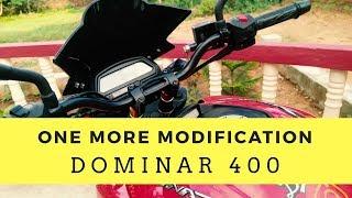 CARBON RACING Handlebar Risers For Dominar 400 || Sunrise Gold