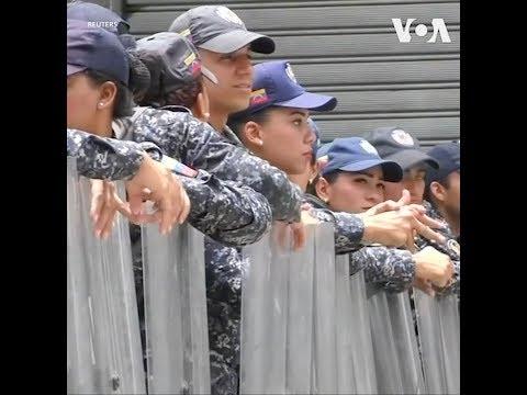 An ninh Venezuela chặn phe đối lập vào Quốc hội (VOA)