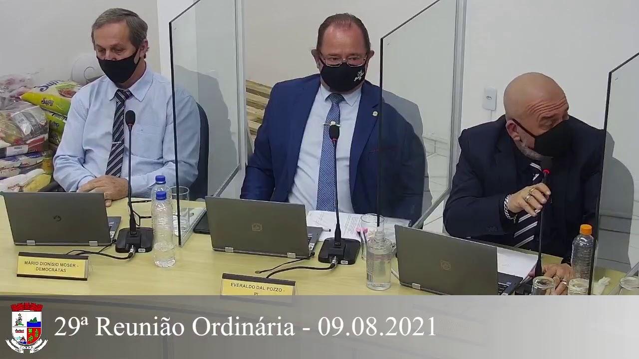 29ª Reunião Ordinária