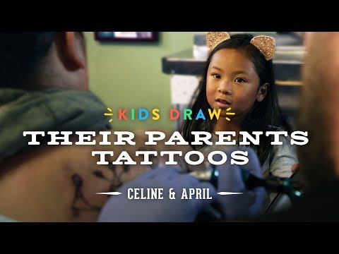 Celine Designs Her Mom's First Tattoo