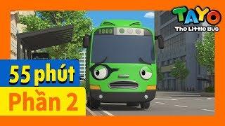 Tayo Phần2 Tập1-5 biên soạn l Tayo xe buýt bé nhỏ l Phim hoạt hình cho trẻ em