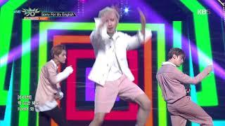 뮤직뱅크 Music Bank - Sorry For My English - IN2IT (인투잇).20180803