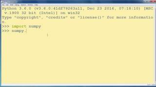 How to Create a NumPy Array in Python programming language