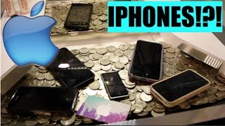 This Coin Pusher is FILLED with IPHONES!!!