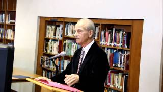 Dr. Christos Tsolakis - Lecture 1/4  - Saint Demetrios School