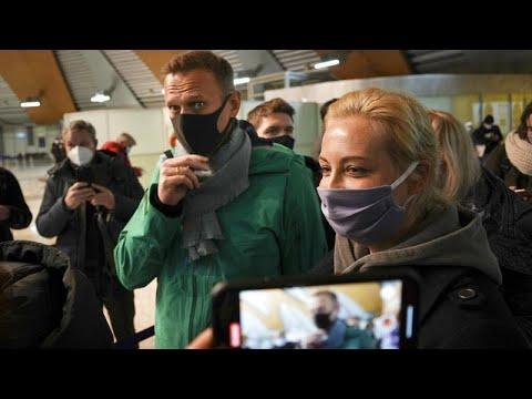Ρωσία: Συνελήφθη στο αεροδρόμιο ο Αλεξέι Ναβάλνι
