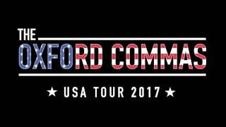 The Oxford Commas - USA Tour Crowdfunding Promo