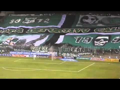 """Hinchada Radical 1912 | Salida Del Deportivo Cali (1-1) Chicó | 2 /Agosto/2013 | Estadio Palmaseca"" Barra: Frente Radical Verdiblanco • Club: Deportivo Cali"