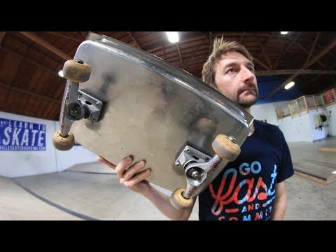 THE HOTEL PAN SKATEBOARD?!?! | YOU MAKE IT WE SKATE IT EP. 202