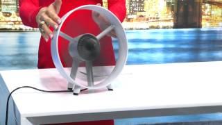 PEARL Mini-Sprüh-Ventilator mit Feinzerstäuber