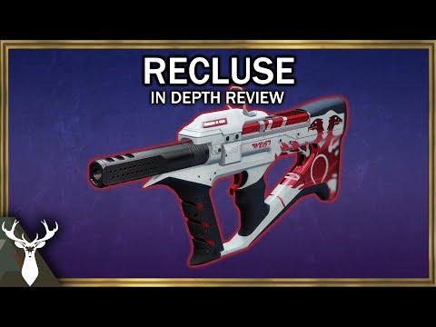Destiny 2 - Recluse - In Depth Review (Crucible Pinnacle SMG)