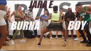 Burna Boy   Jara E   Fumy Choreography