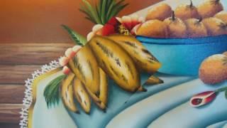 Angela Almeida - Artista Plástica - Pintura em tela - Natureza Morta - Frutas