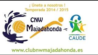 preview picture of video '2014-2015 ¡Únete a Club Natación Waterpolo Majadahonda Caude!'