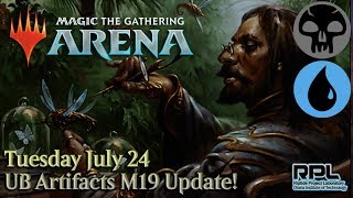 MTG Arena - UB Artifacts M19 Update! (Deck Tech) - Magic: The Gathering