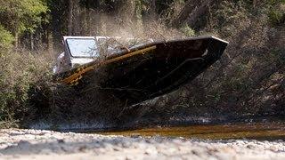 "SJX Jet Boats Pushing the limits "" Incredible boat jumps"""