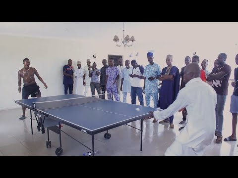 SEE TAYE CURRENCY PLAYING TABLE TENNIS INSIDE HIS MASSIVE MANSION
