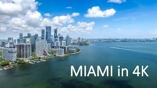 Miami - 4K drone aerial footage