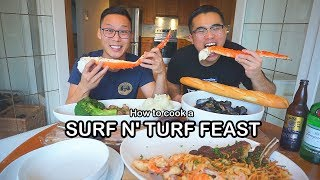How to cook a SURF N